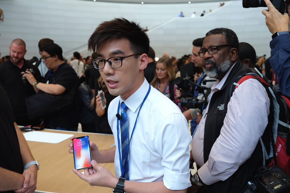 Photos What It Was Like To Attend Apple S Iphone X Event Vox