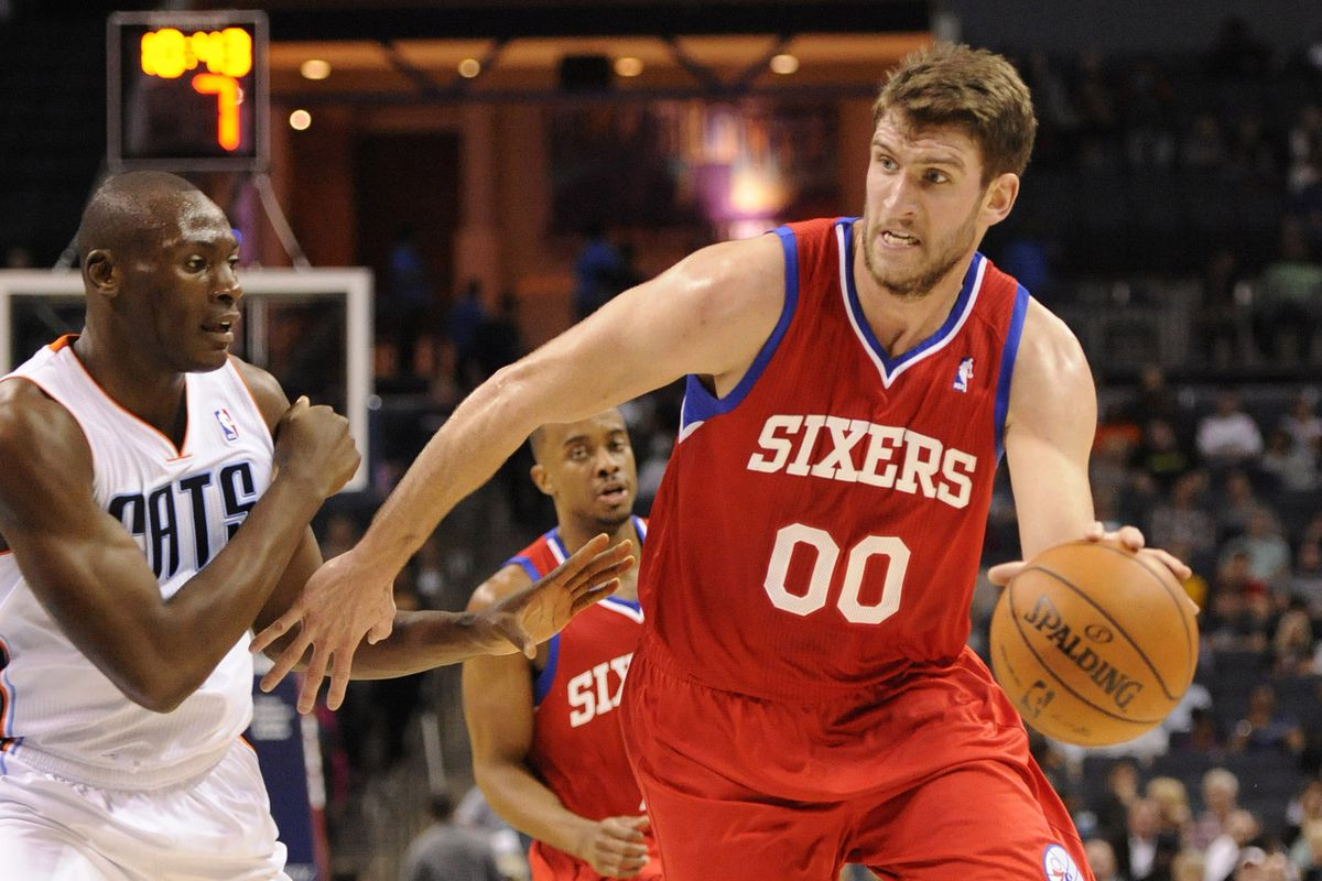 Tonight, we could have used Steve Hawes instead of Spencer Hawes.