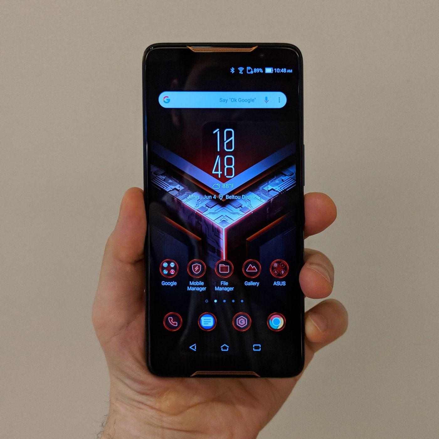 Asus' gaming phone will be available to preorder in the US