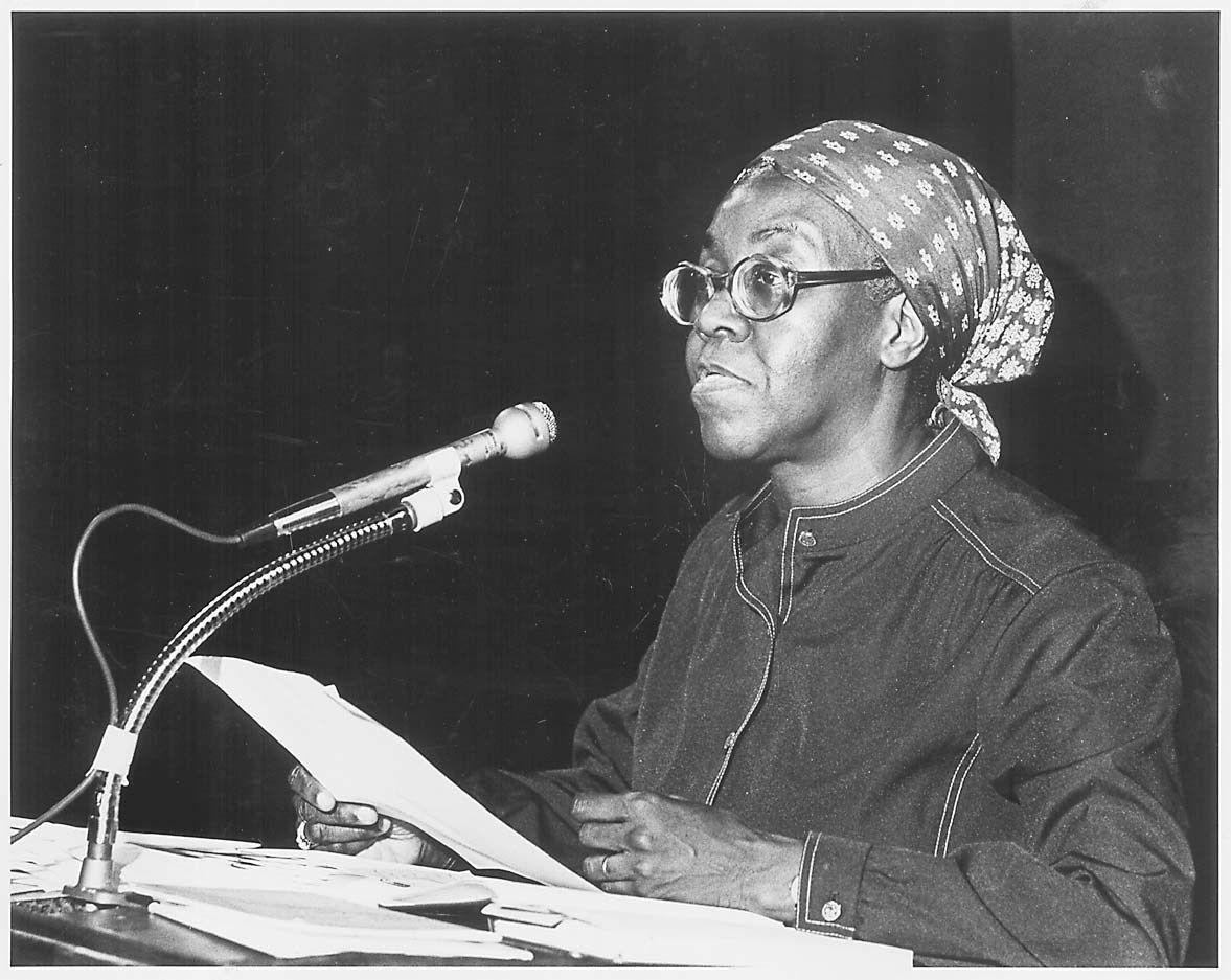 Gwendolyn Brooks in 1979.
