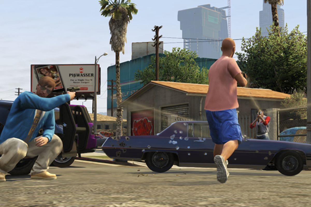 Grand Theft Auto 5 celebrates Grand Theft Auto: San Andreas