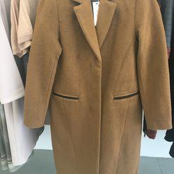 Veda coat, $295 (was $770)
