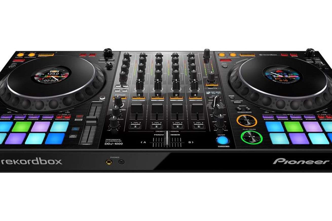 pioneer s new dj controller brings a club style layout to a portable unit