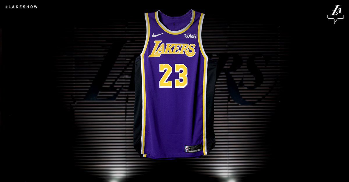 d5054bd37 The Lakers are going back to their Showtime jerseys and they re so ...