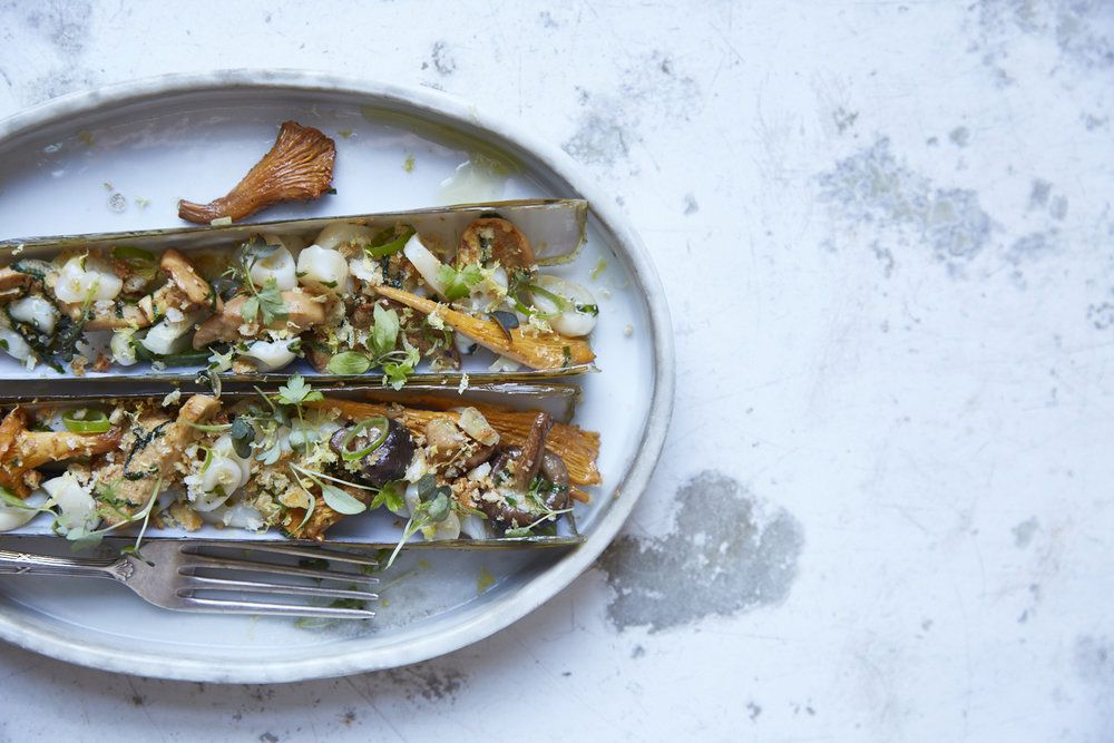 Caractere restaurant in Notting Hill entranced food critic Grace Dent with dishes like these razor clams