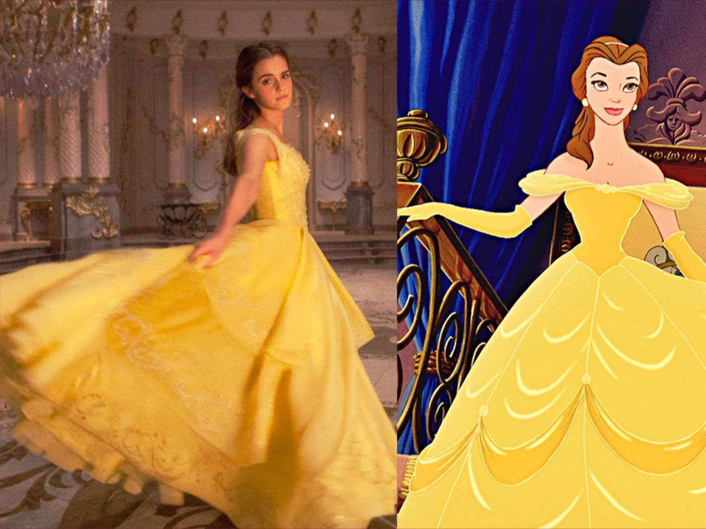 Belle S Costumes Don T Fit The Live Action Beauty And The Beast But They Fit Her Brand Vox
