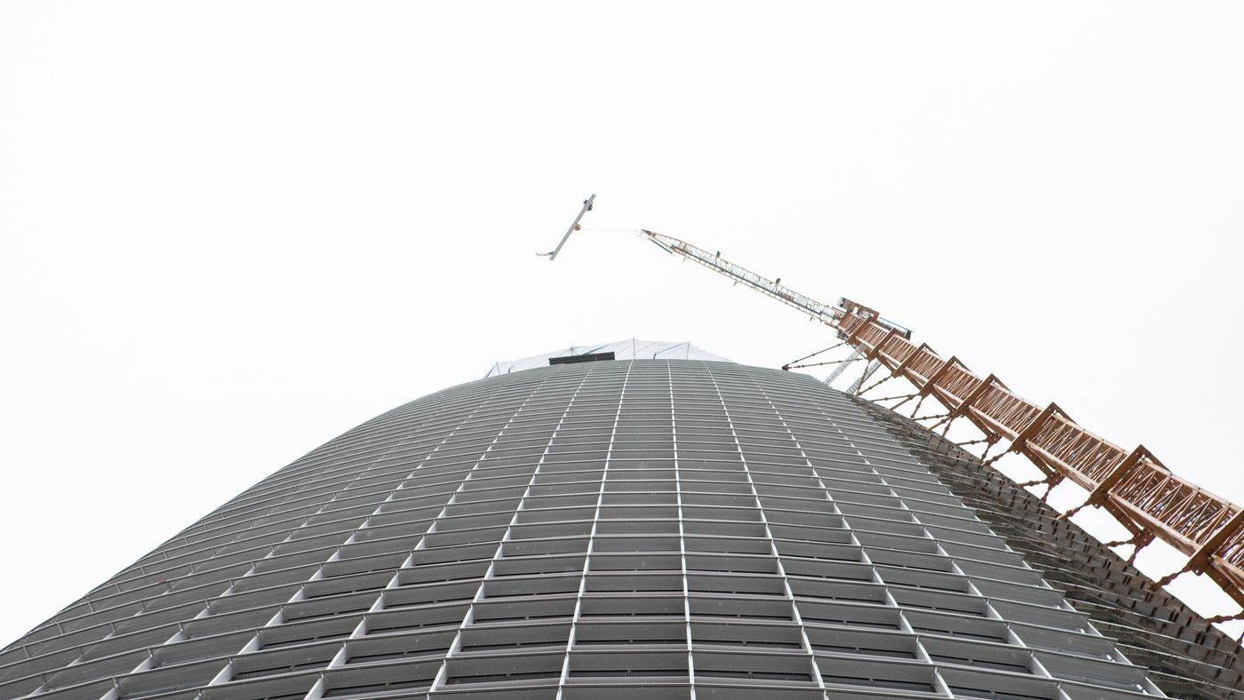 San Francisco's tallest building, the Salesforce Tower, puts