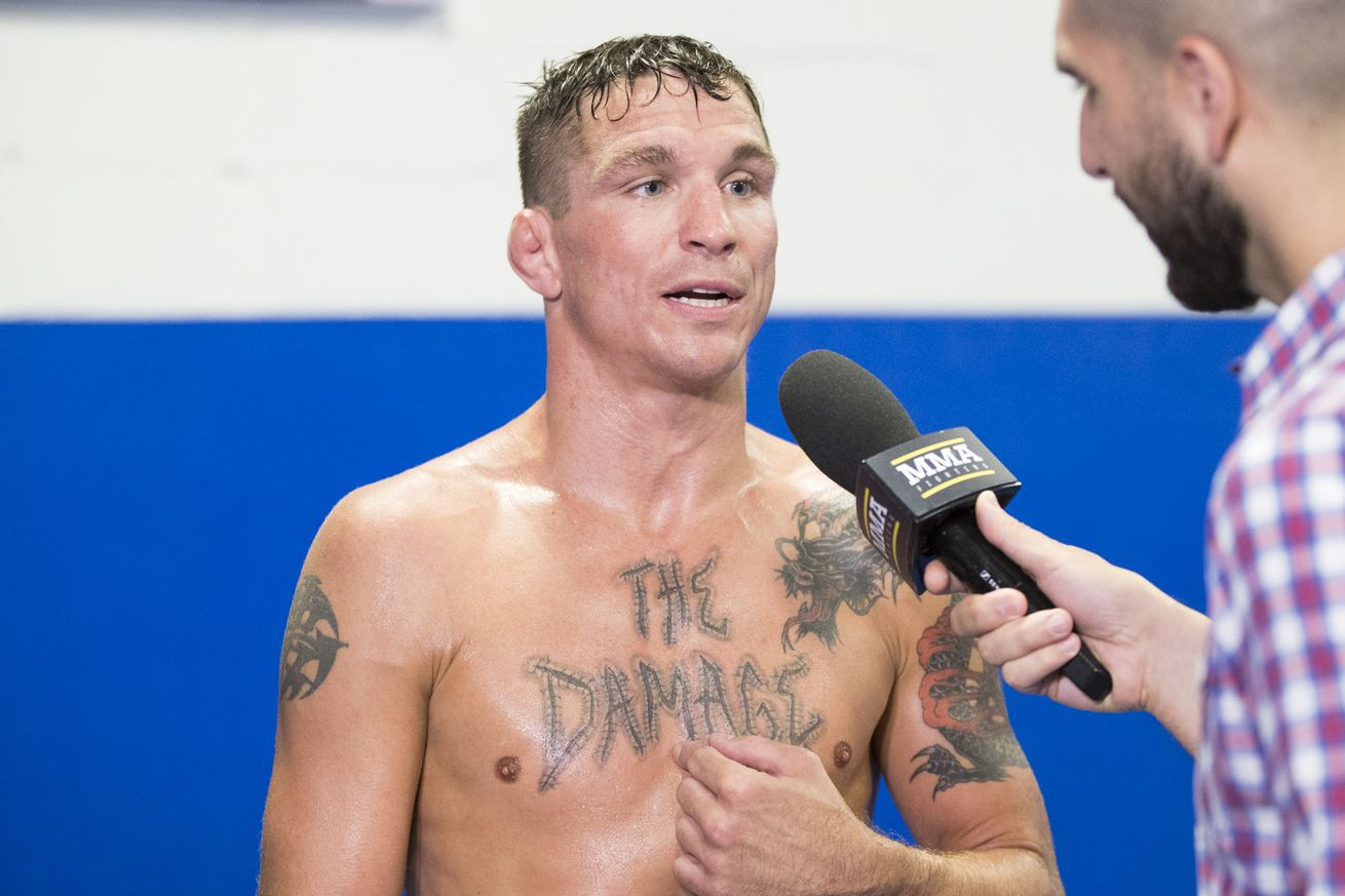 community news, Darren Elkins talks 'The Damage' tattoo, working 900 hours as a pipefitter in 96 days