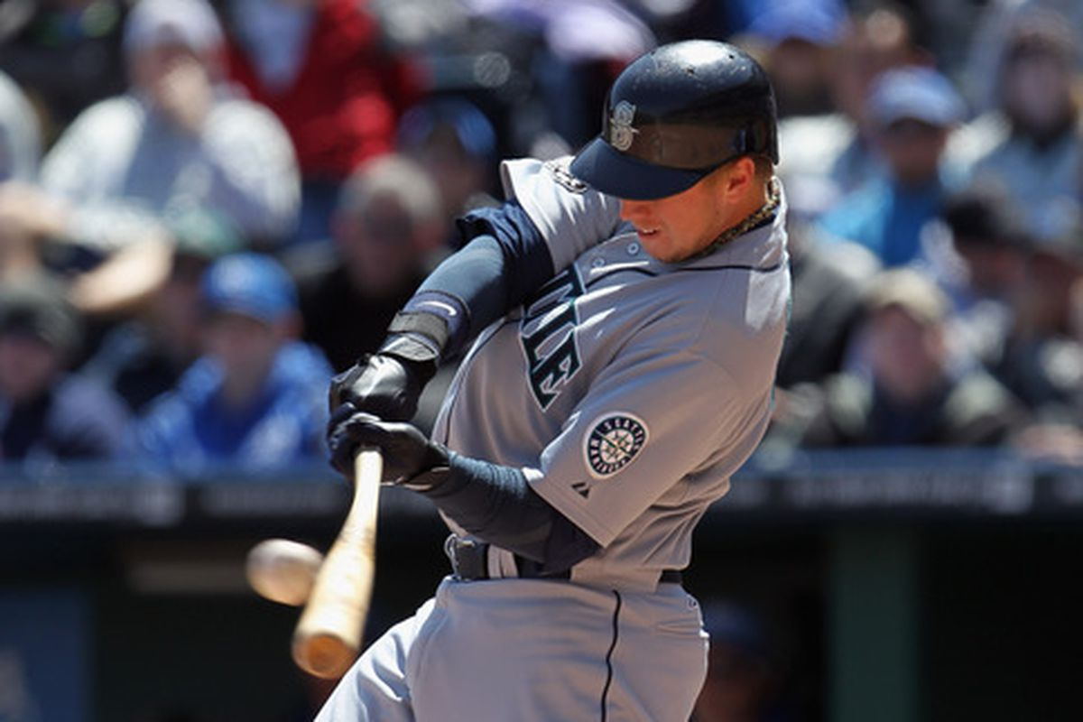 Justin Smoak should never have experimented with those gumby bats
