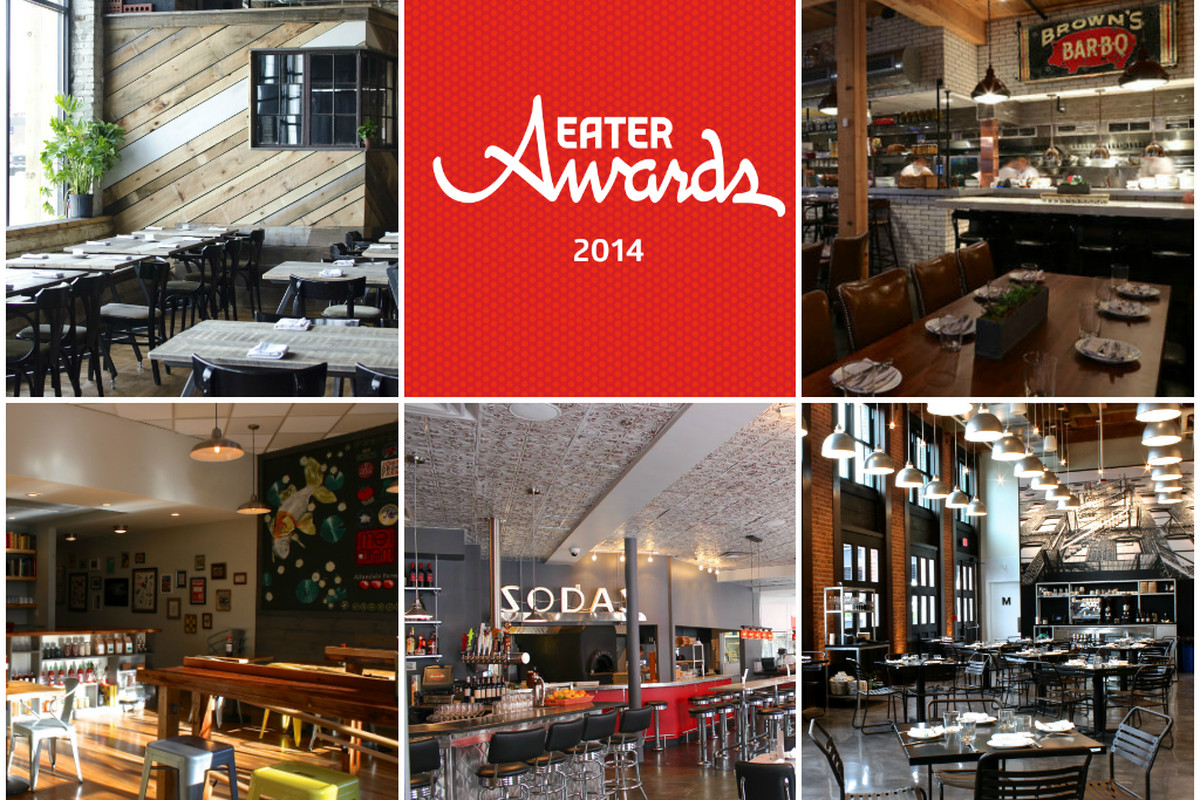 Restaurant of the Year 2014 nominees