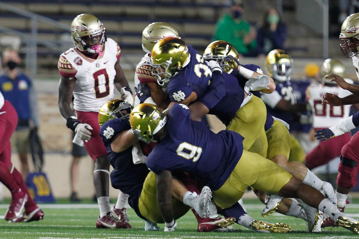 Notre Dame Football News The Florida State Hangover Has Body Blows One Foot Down