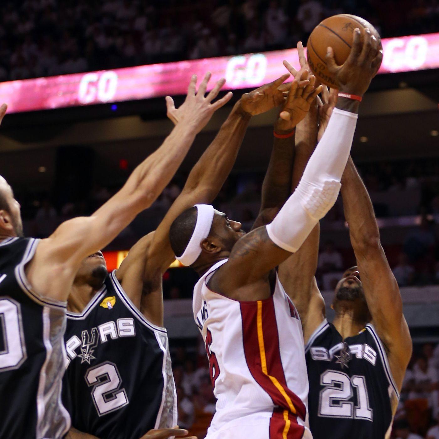 Nba Finals 2013 Spurs Vs Heat Game 6 Miami Caps Wild Ot Finish With 103 100 Win Sbnation Com