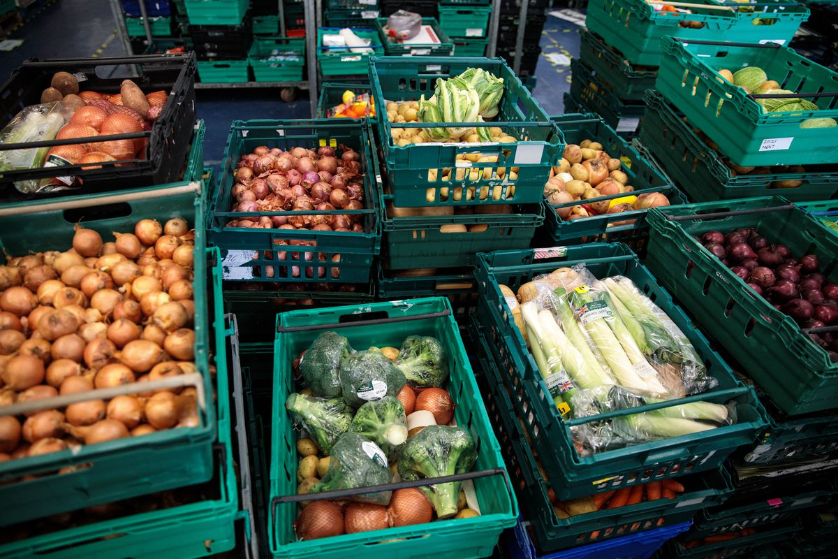 Charity Seeks To Re-purpose Supermarket Waste Food To Combat Food Poverty