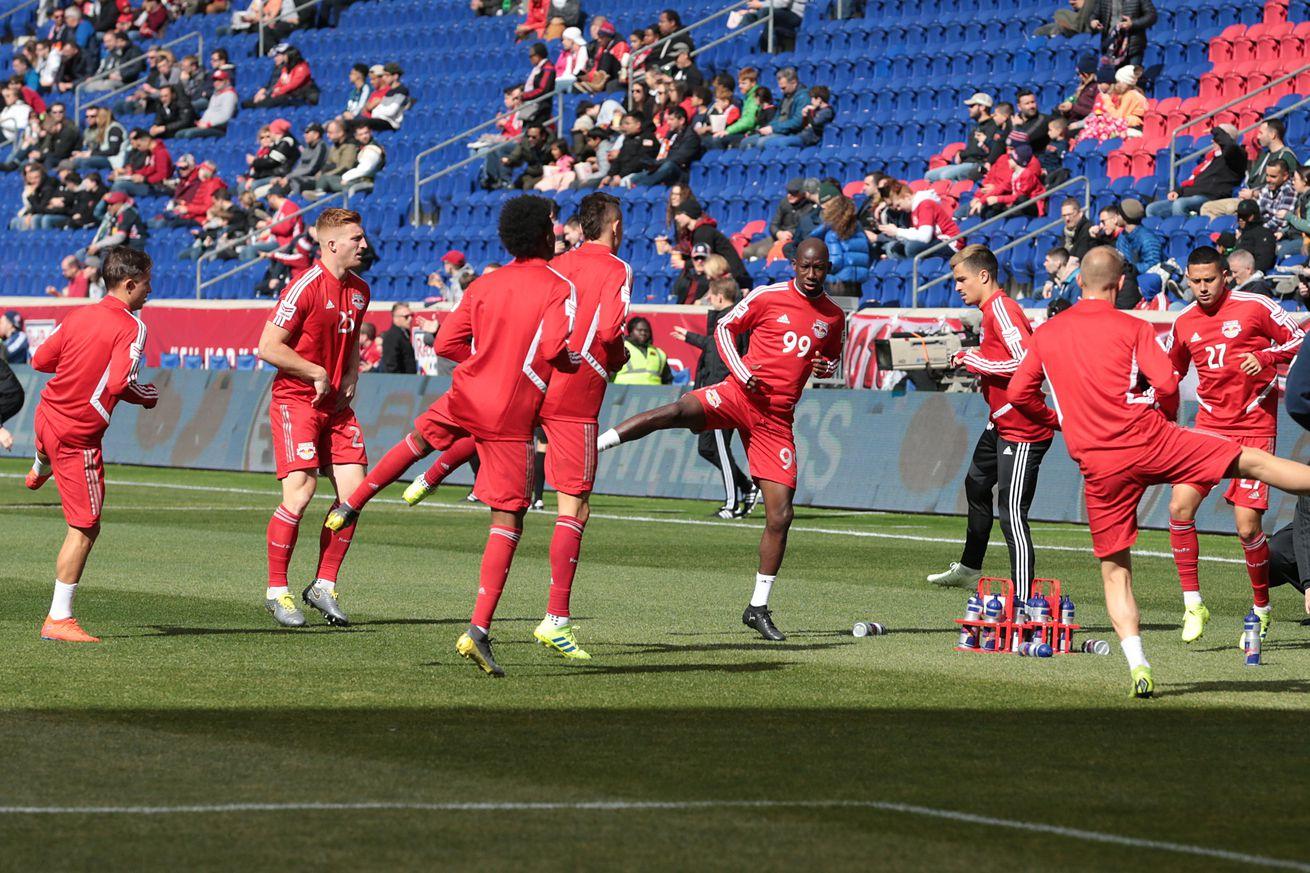 MLS: San Jose Earthquakes at New York Red Bulls