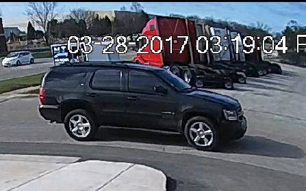 Surveillance footage of the two people the DuPage County sheriff's office believed to have stolen a handgun March 28 from the Almost Whole Sale Guns store at 7545 S. Madison St., in southwest suburban Burr Ridge. | DuPage County sheriff's office