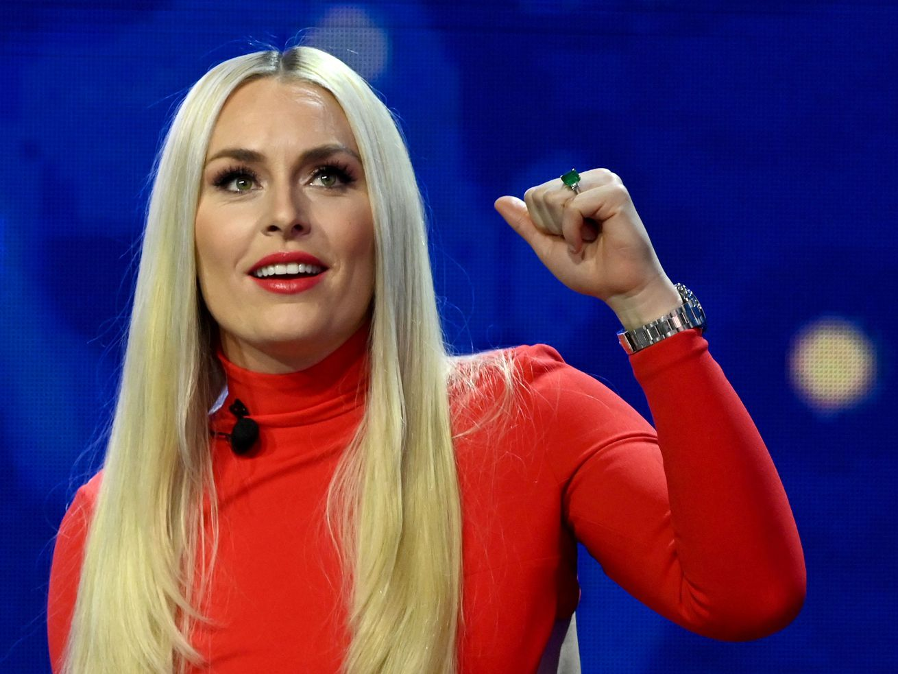 Lindsey Vonn hosts the 2020 Sports Illustrated Awards at AG Production Services on December 10, 2020 in North Las Vegas, Nevada.