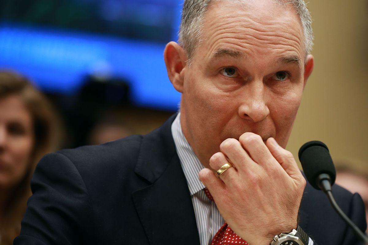 EPA Administrator Scott Pruitt Testifies At House Hearing On FY2019 Budget