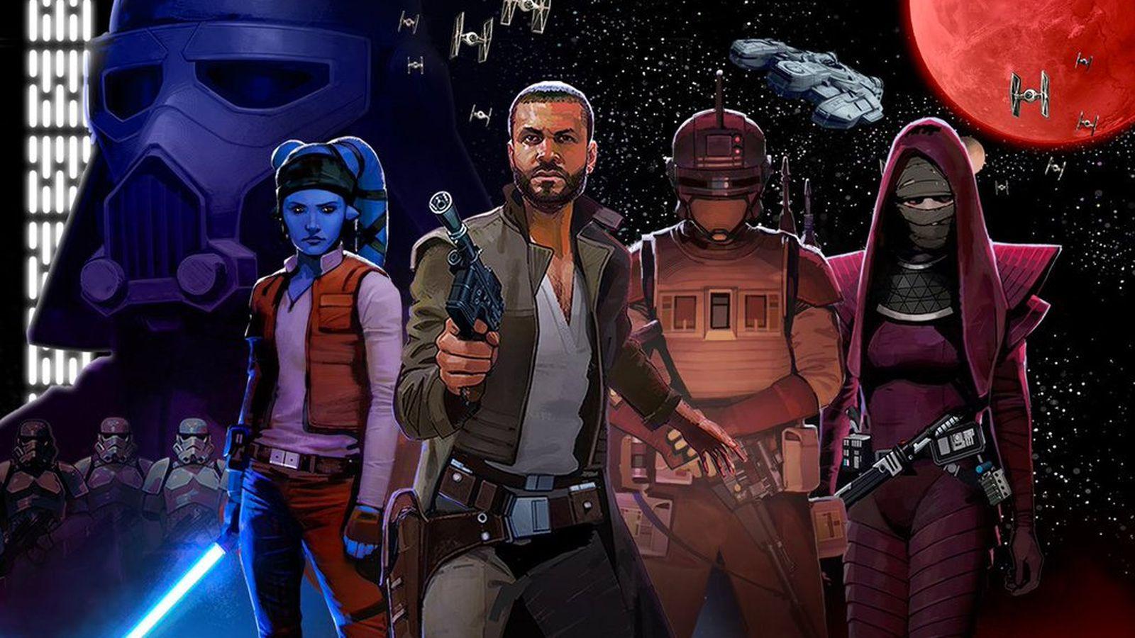 Star Wars: Uprising Blueprint Guide List Upgrade Crew ...