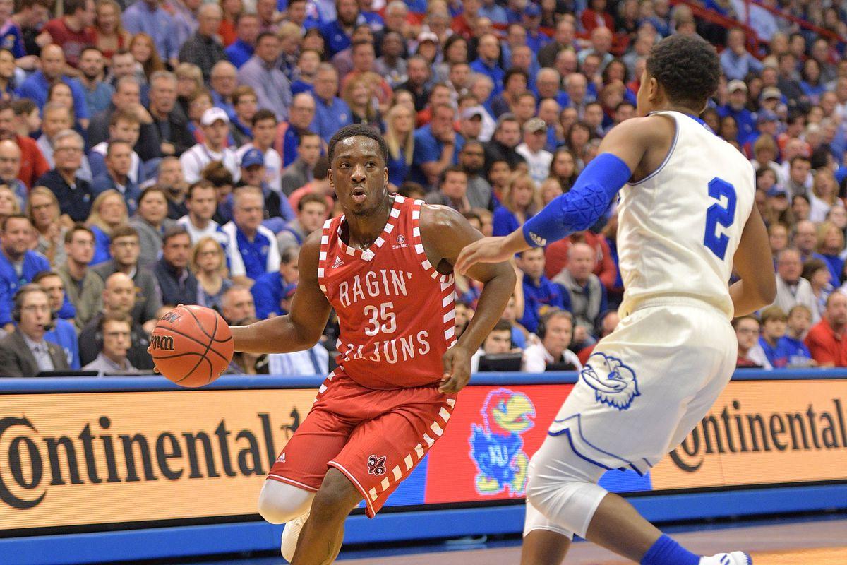 NCAA Basketball: Louisiana-Lafayette at Kansas