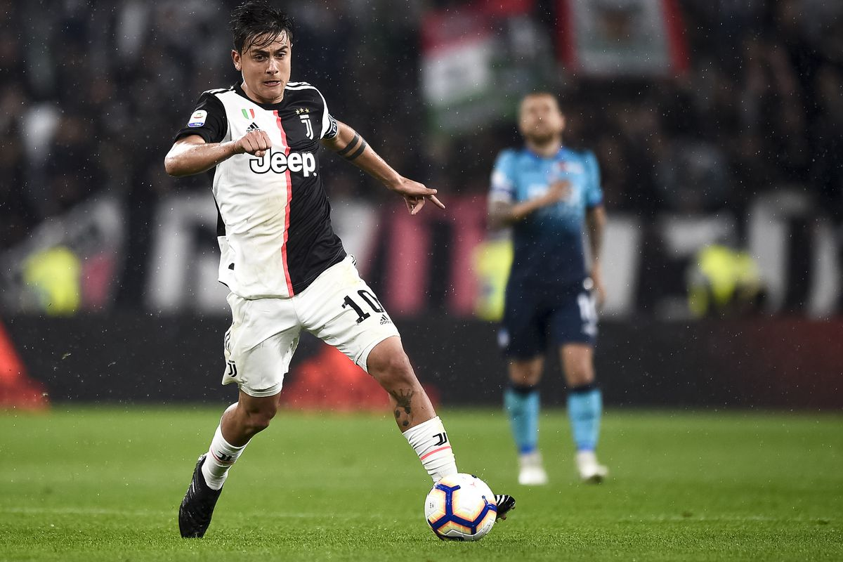 Paulo Dybala of Juventus FC in action during the Serie A...