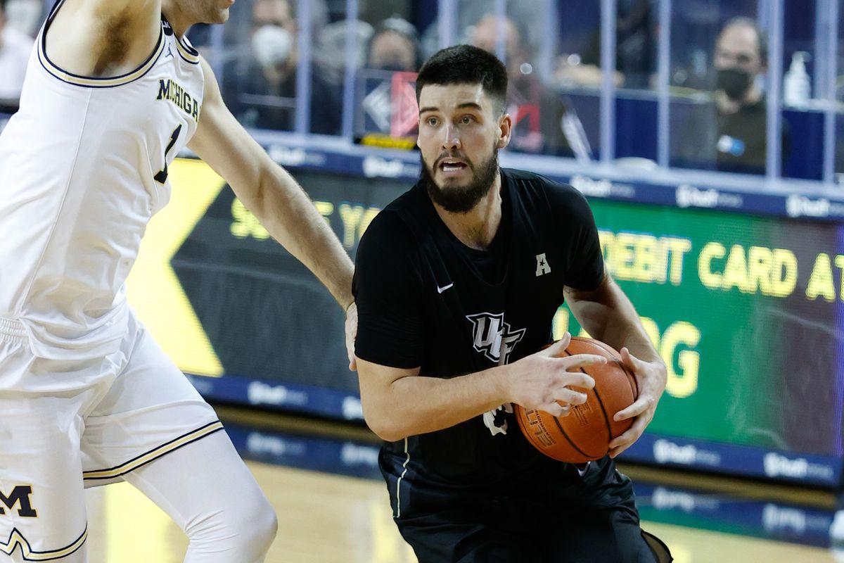 NCAA Basketball: Central Florida at Michigan