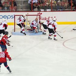 Puck Behind Karlsson