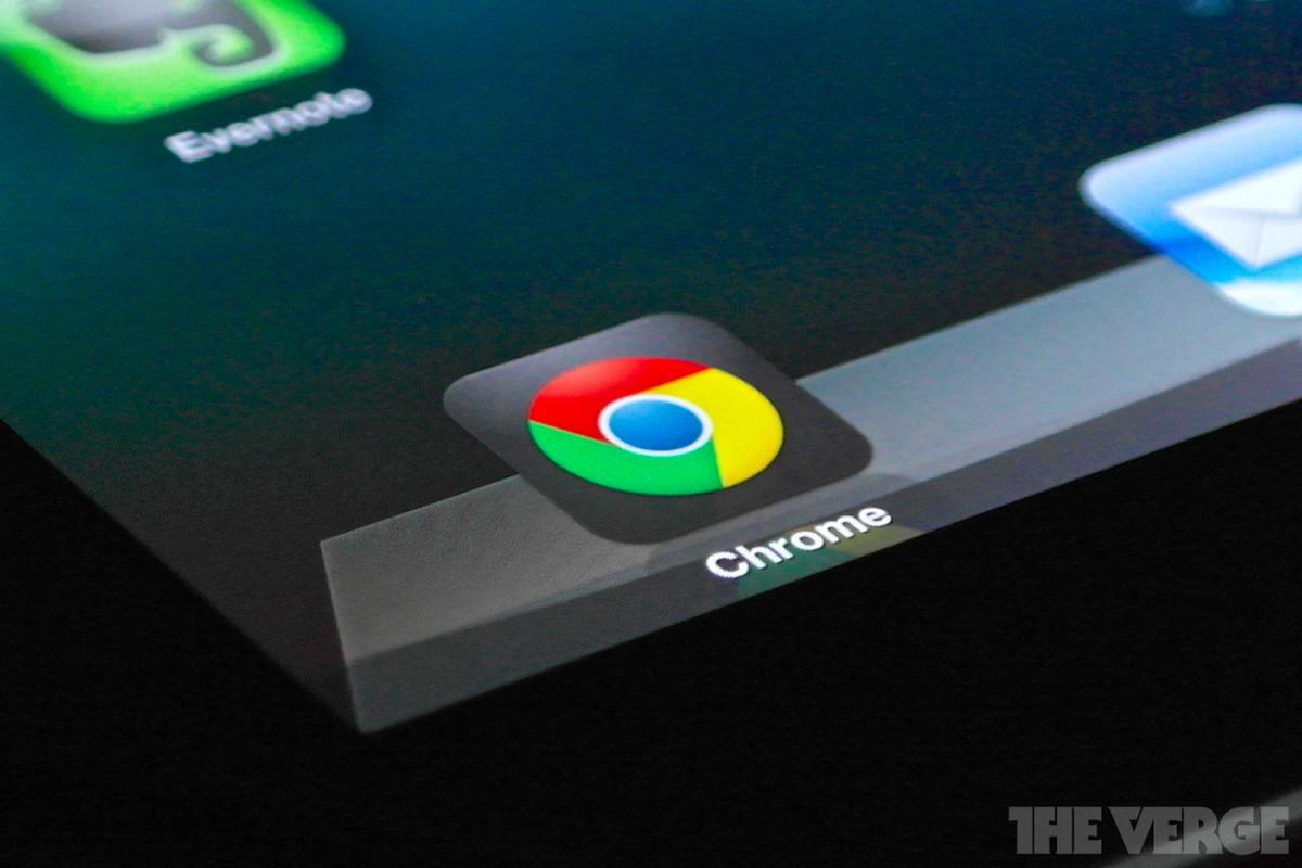 chrome app on ipad