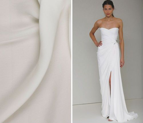 White vs ivory wedding dress meaning matt