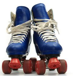 """Before you lace your skates, you'll need the perfect disco shorts. Image via <a href=""""http://www.shutterstock.com"""">Shutterstock</a>."""