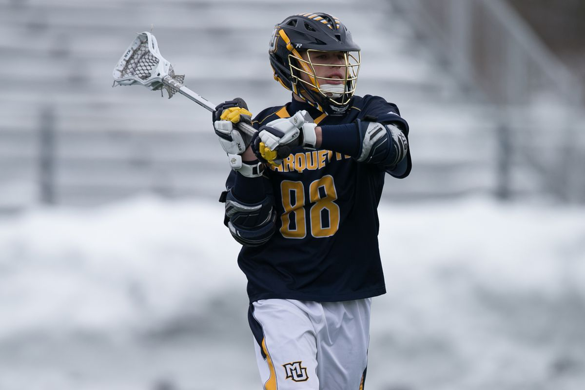 Ryan McNamara's goal with 67 seconds left gave him Marquette's first ever 40 goal season.
