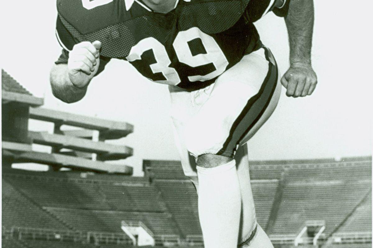 All-American Kurt Crain was Team Captain of Auburn's 1987 SEC Championship Team. (<em>photo, auburn University</em>)