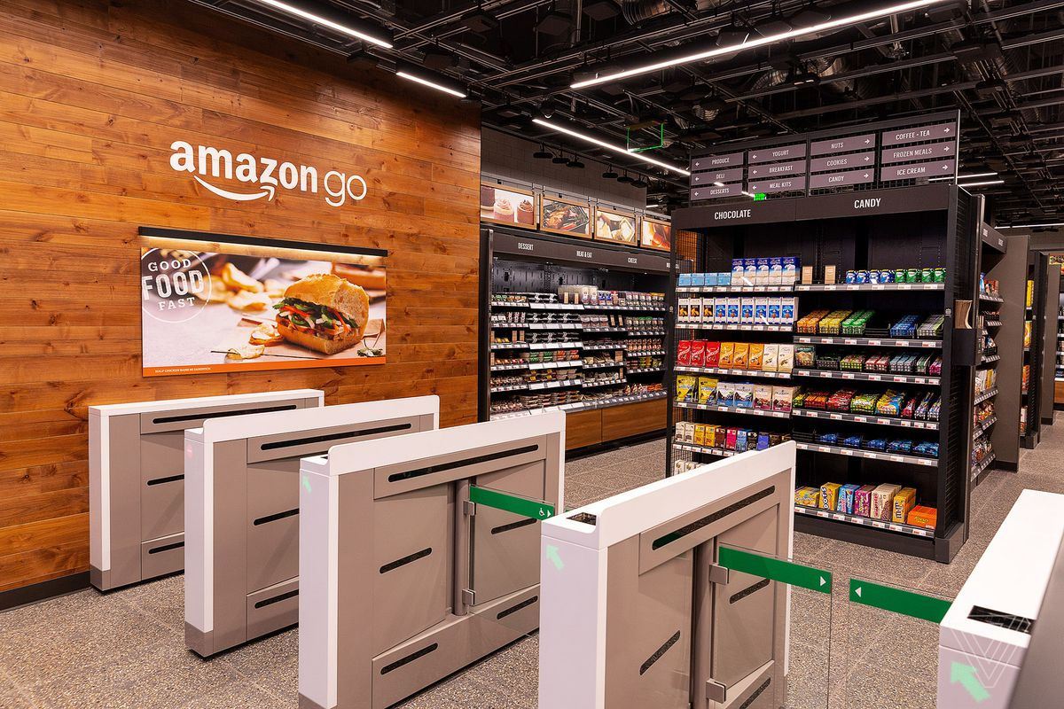 Amazon Go Opens Its Doors in SF's Financial District With No Cashiers -  Eater SF