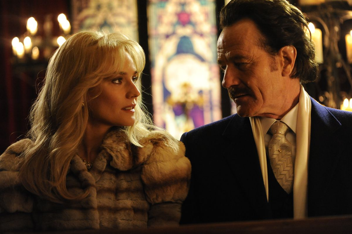 """Diane Kruger stars as undercover U.S. Customs agent Kathy Ertz and Bryan Cranston as her partner Robert Mazur in """"The Infiltrator.""""  Broad Green Pictures"""