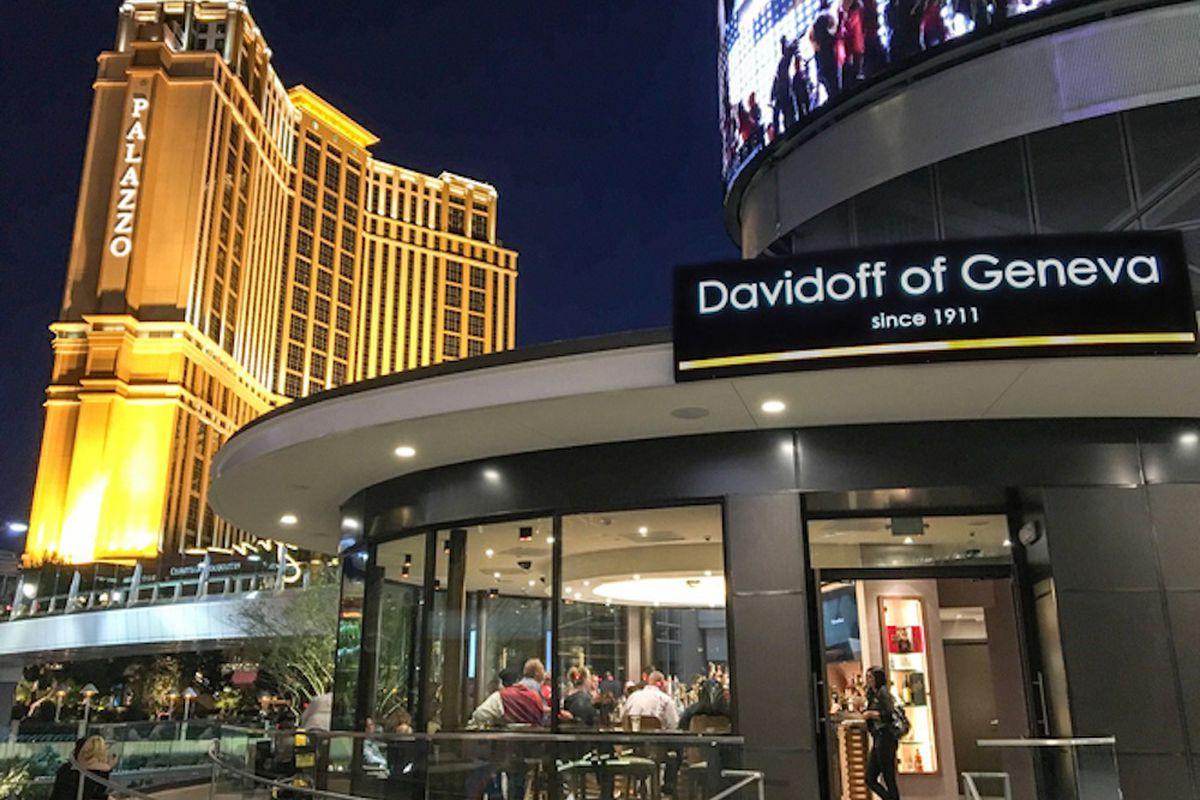 Smoke 'em if You've Got 'em at Davidoff Cigar Bar - Eater Vegas