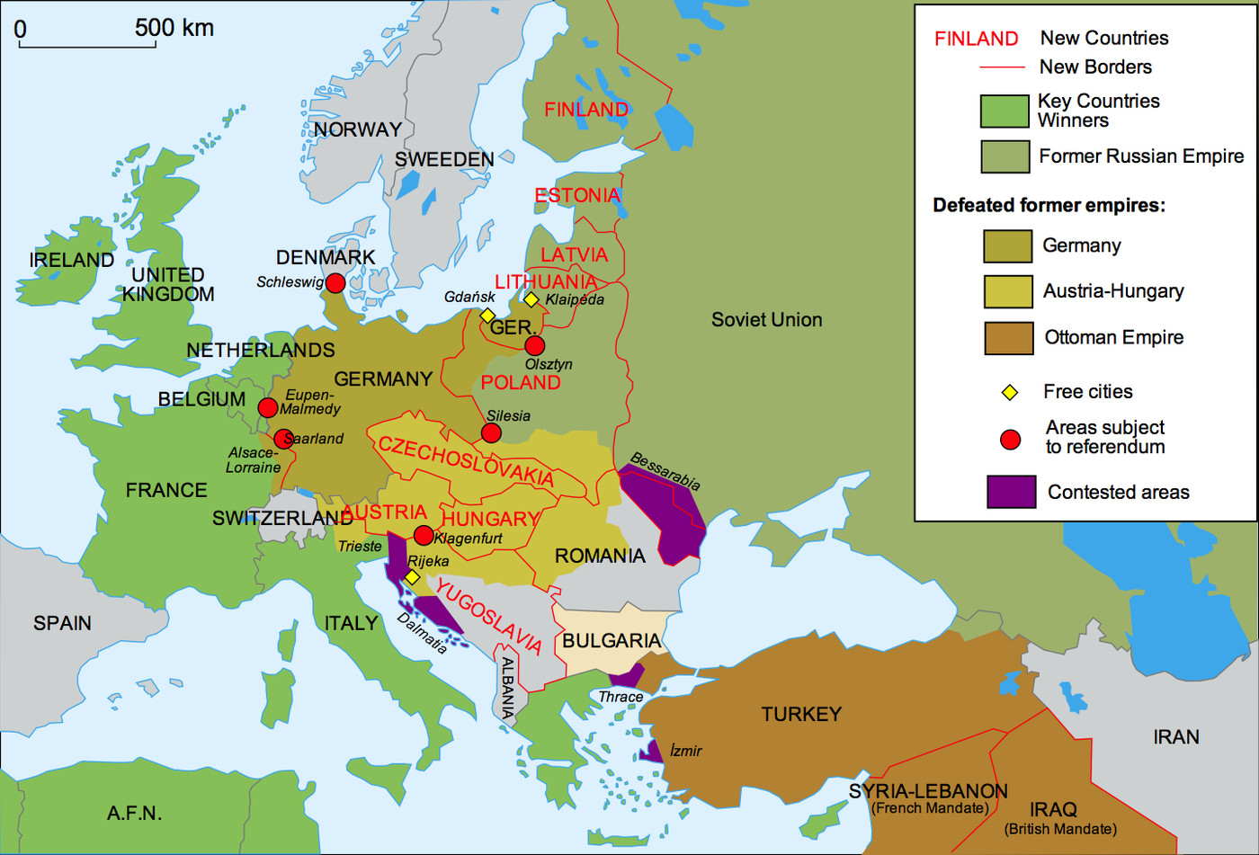 map of europe before ww2 42 maps that explain World War II   Vox