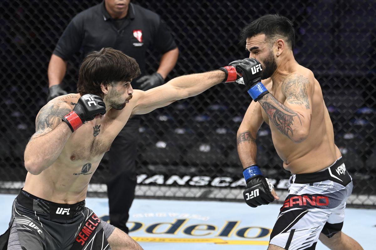 UFC 266: Semelsberger v Sano