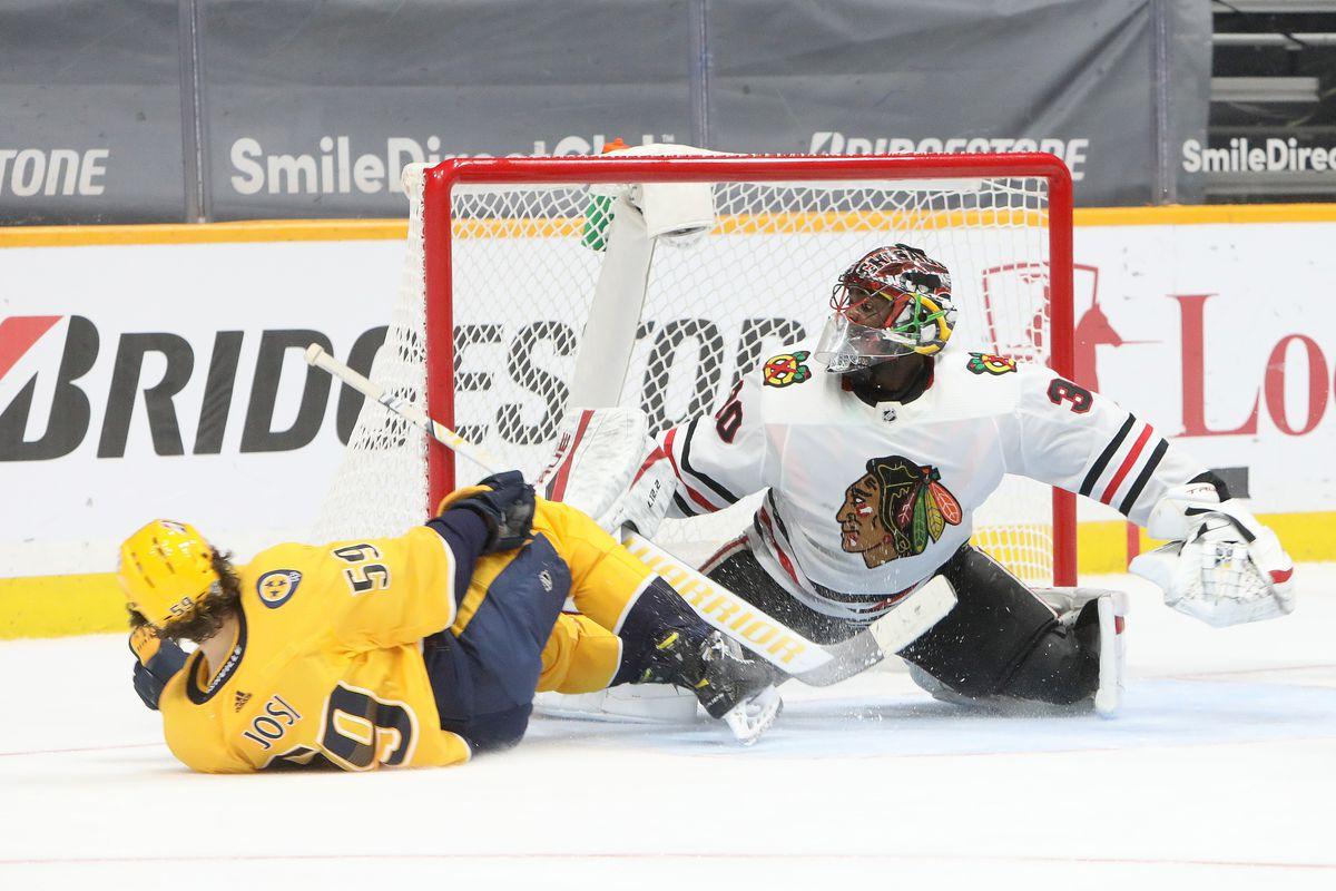 NHL: JAN 26 Blackhawks at Predators