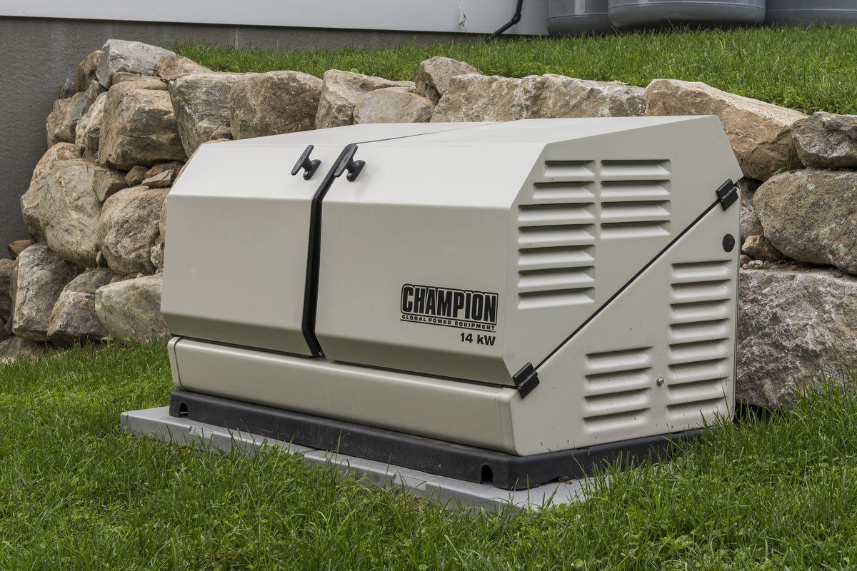 Champion standby generator