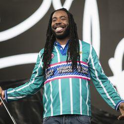 D.R.A.M. performs at the Pitchfork Music Festival.   Ashlee Rezin/Sun-Times