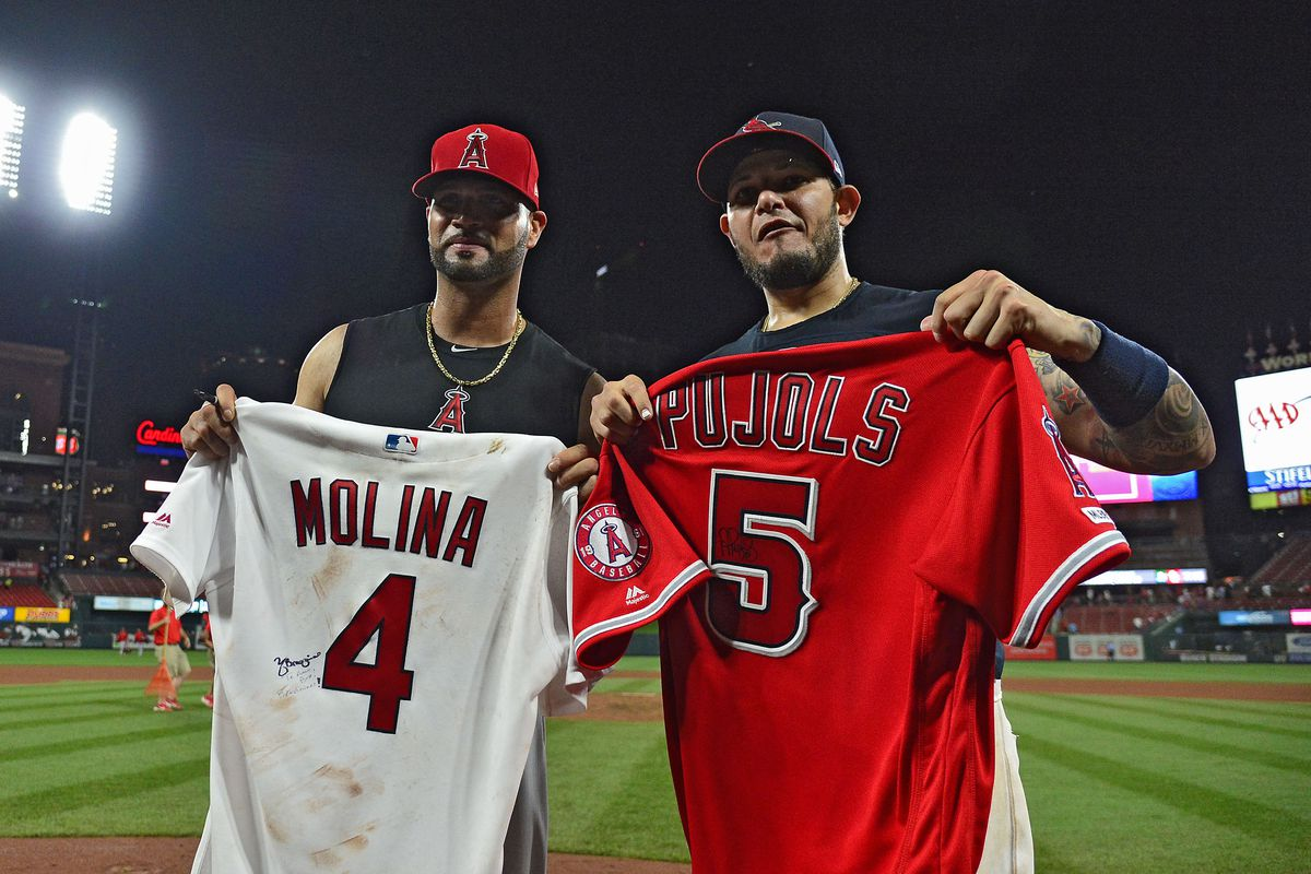 MondoLinks: Pujols Homecoming Over. Time To Come Home