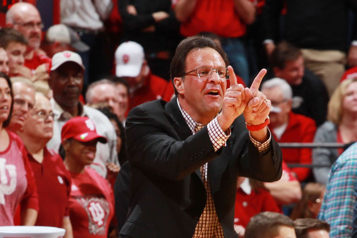 I don't even want to know what Tom Crean is doing here.