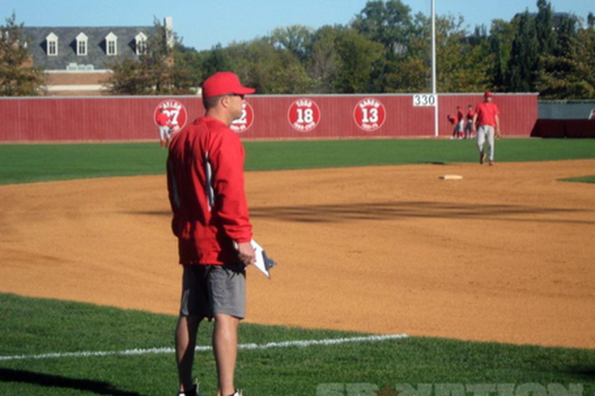 Ohio State head baseball coach Greg Beals ramps up for this third go at it.