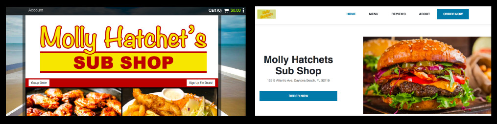 Grubhub is using fake websites to drive up commission fees from real