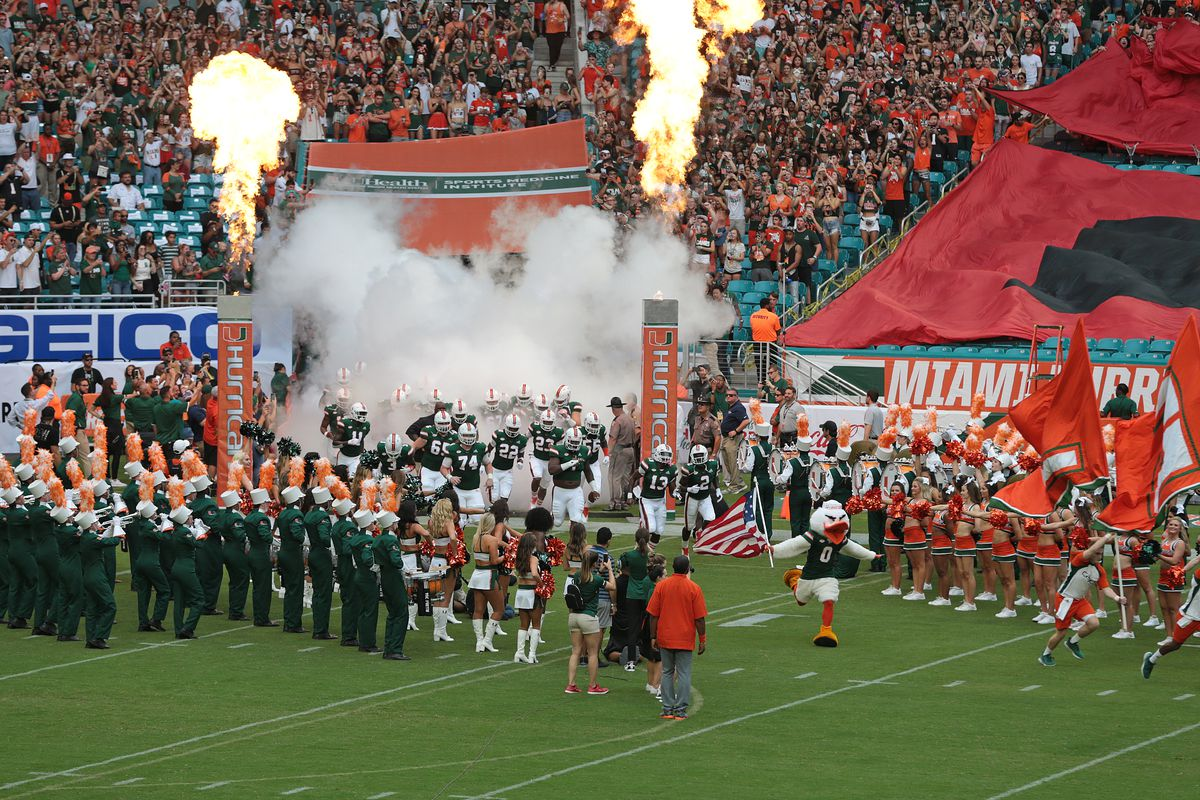 Miami Hurricanes Vs Fiu Panthers Game Time Announced State Of The U