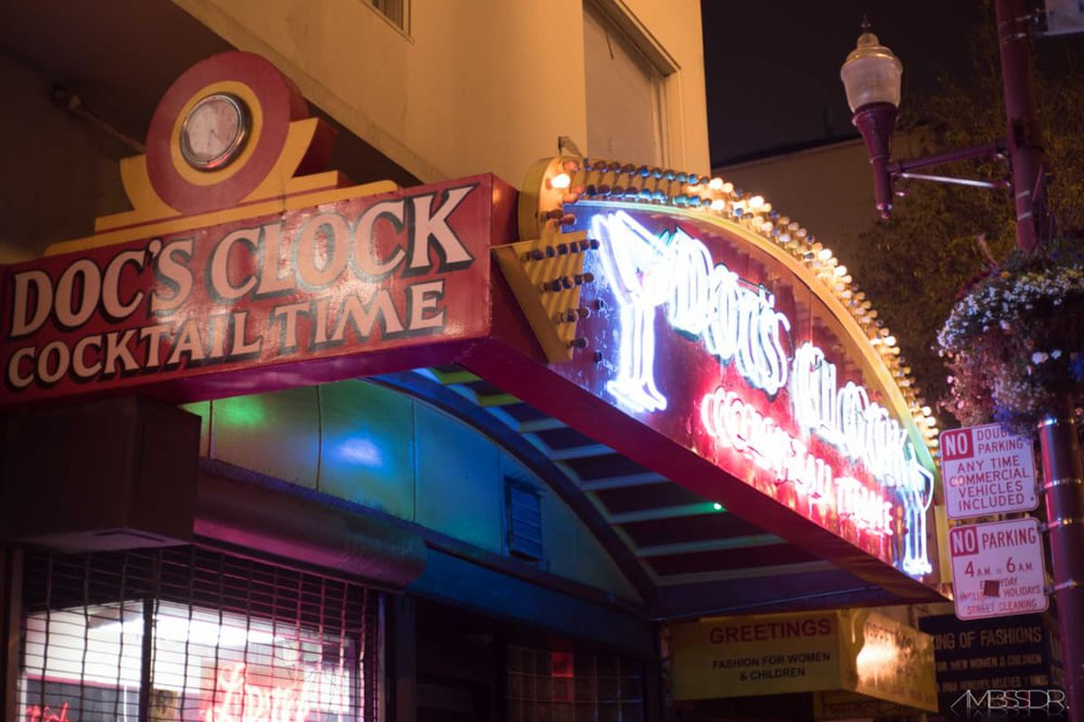 Doc's Clock Can Move Old Sign to New Home - Eater SF