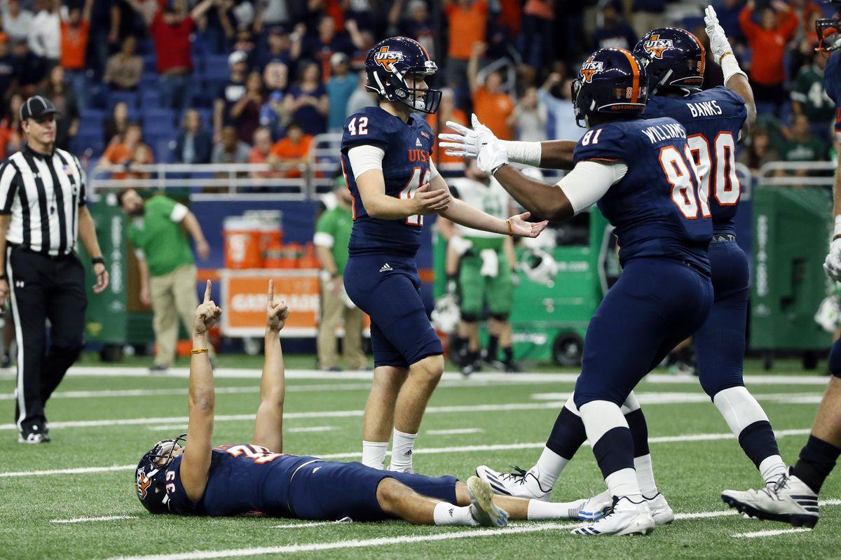 NCAA Football: Marshall at Texas-San Antonio
