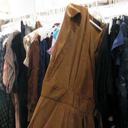 Brown printed No.6 dress, $155