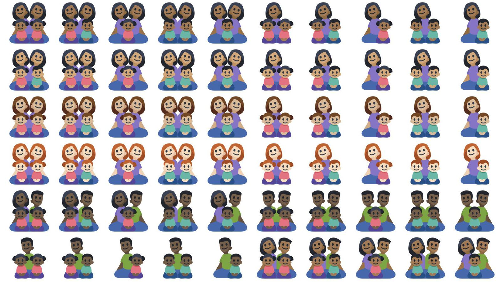 Facebook Rolls Out New Family Emoji, But There's Something