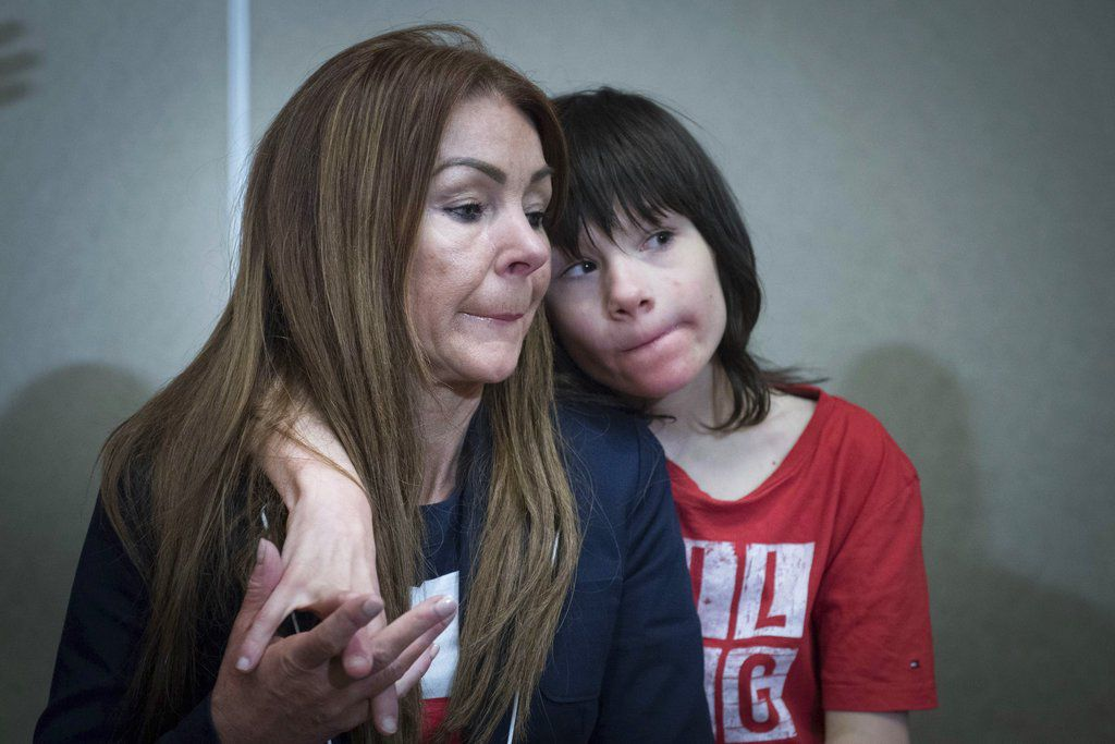 The British government relented and allowed a 12-year-old Billy Caldwell, who has epilepsy, to receive cannabis oil treatment that his mother said was needed to prevent life-threatening seizures. | Stefan Rousseau/PA via AP