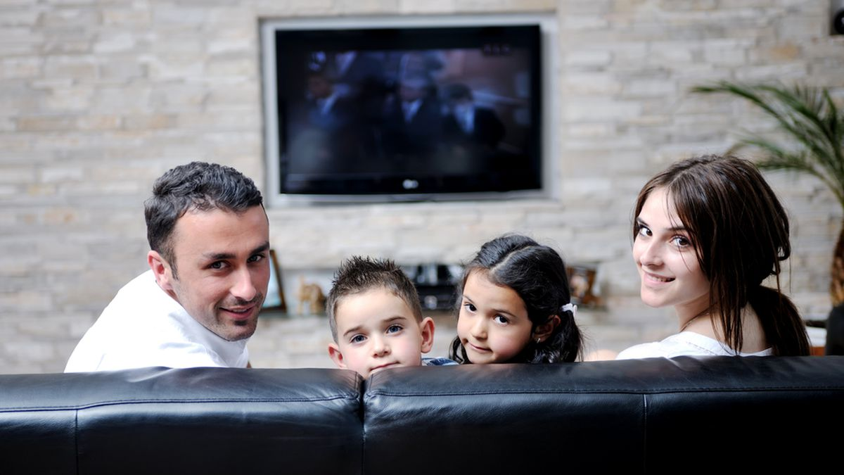 This family followed* our movie recommendations, and look how happy they are! (*Not actually true.)